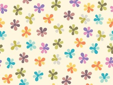 summer flowers ppt backgrounds is a green and purple colors, Powerpoint templates
