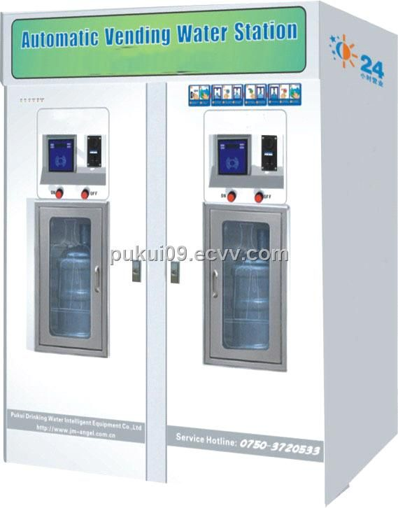 RO-100A-HS Seawater Desalination Water Vending Machine (RO-100A-HS