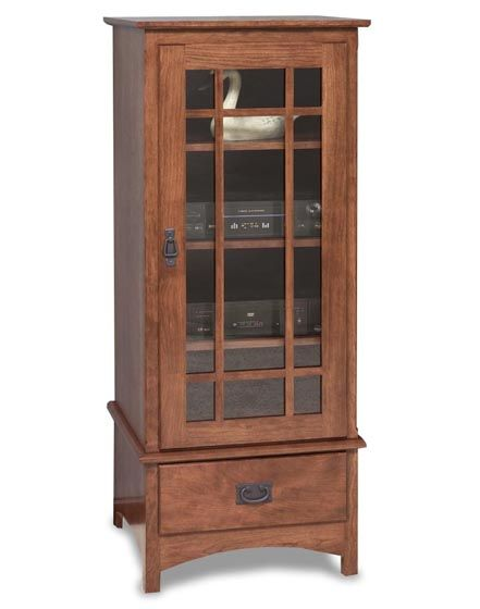 Mission Stereo Cabinet With Drawer 3053 12 Stereo Cabinet Tall Cabinet Storage Cabinet Drawers
