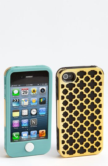 I wish they made this case for my phone!  :(  Tech Candy 'Barcelona Metallic' iPhone 4 & 4S Case available at #Nordstrom