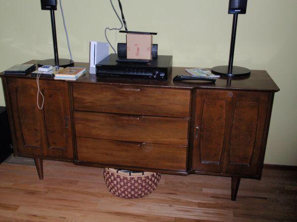 $200 Mid Century sideboard console buffet   Sideboard ...