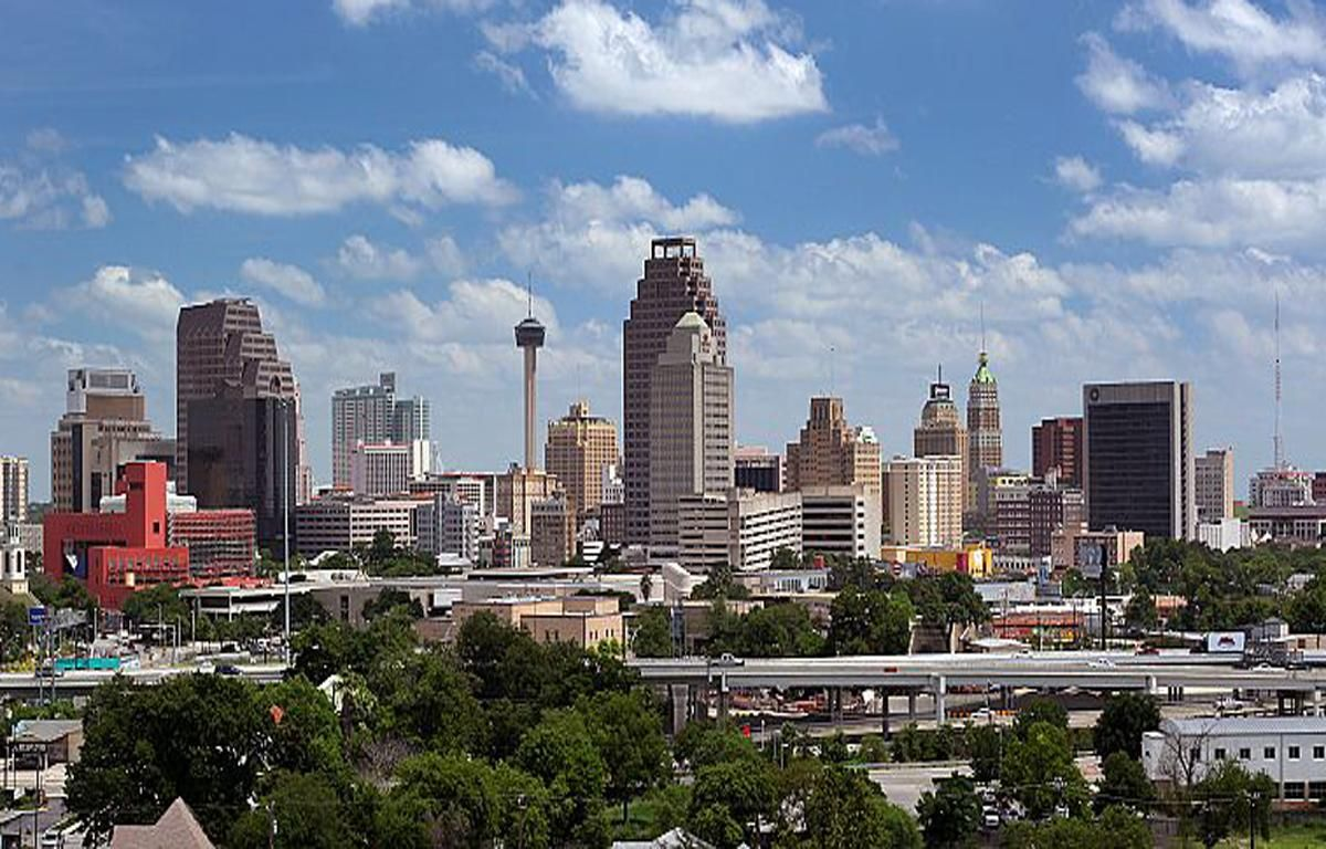 San Antonio Skyline Wallpapers San Antonio Skyline Skyline Travel Bucket List Usa