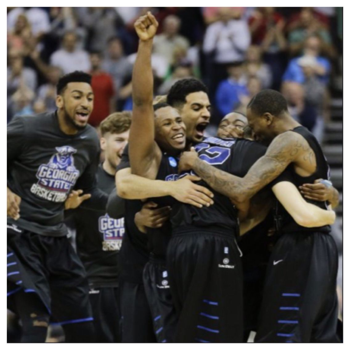 NCAA TOURNAMENT 2015 Ga State v Baylor Sports photograph