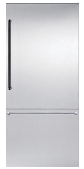 10 Easy Pieces Built In Refrigerators Remodelista Built In Refrigerators Thermador Diy Kitchen Renovation