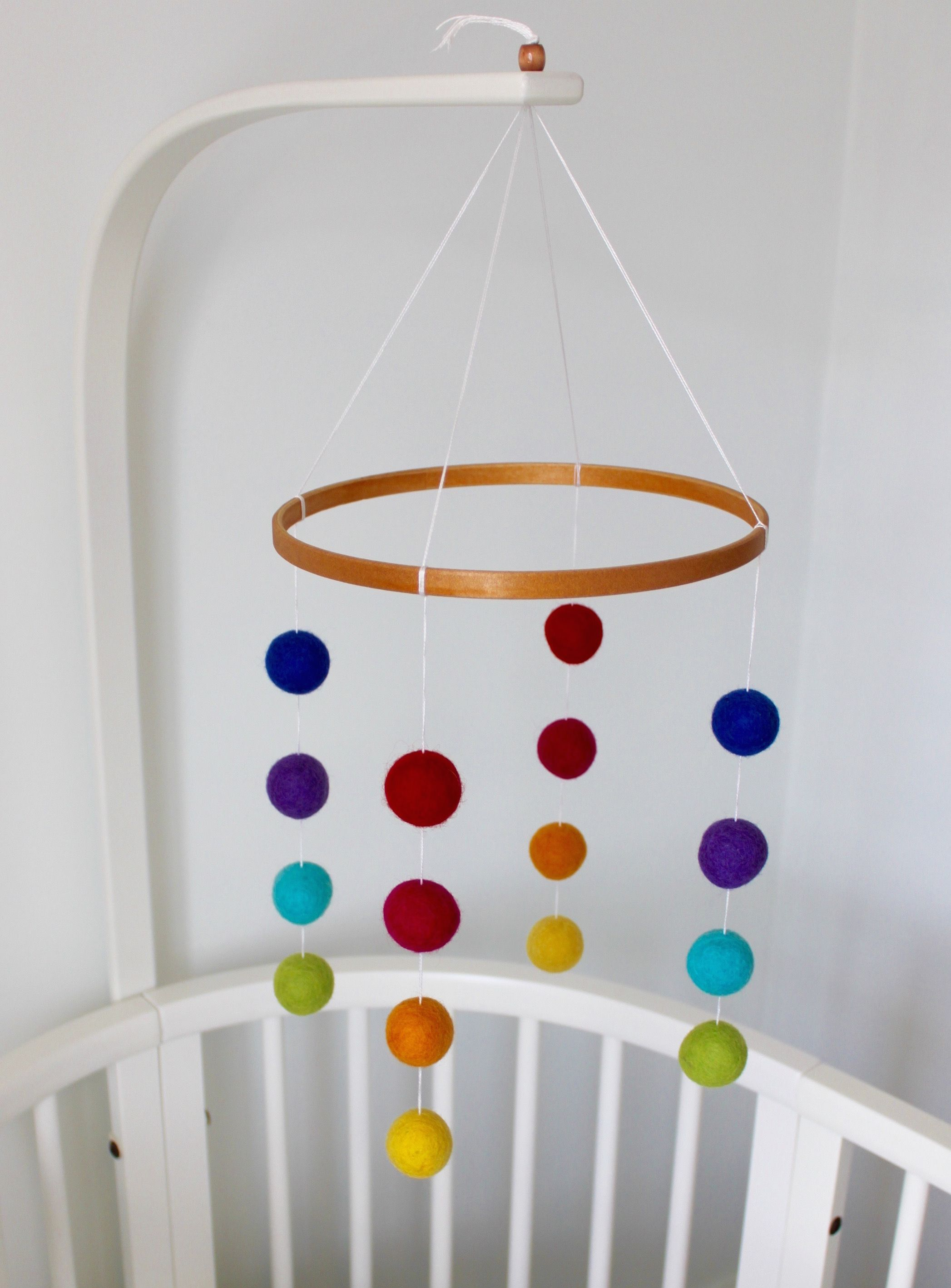 Our Best Ing Rainbow Mobile Brings Colour To Any Nursery Or Childs Room Made