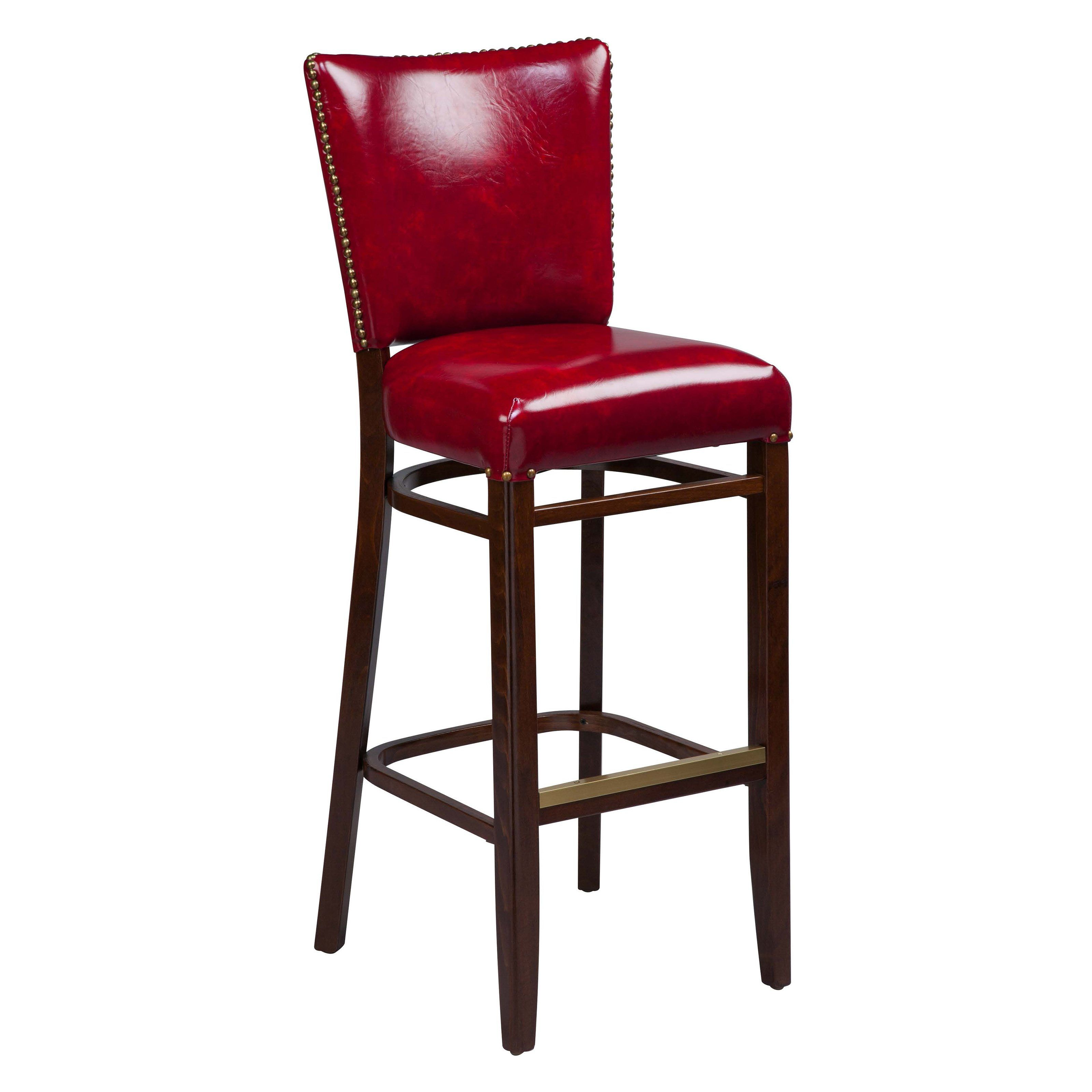 Regal Beechwood 2440 Bar Stool Upholstered Seat and Back