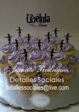 Pastel de Cupcakes Ballet
