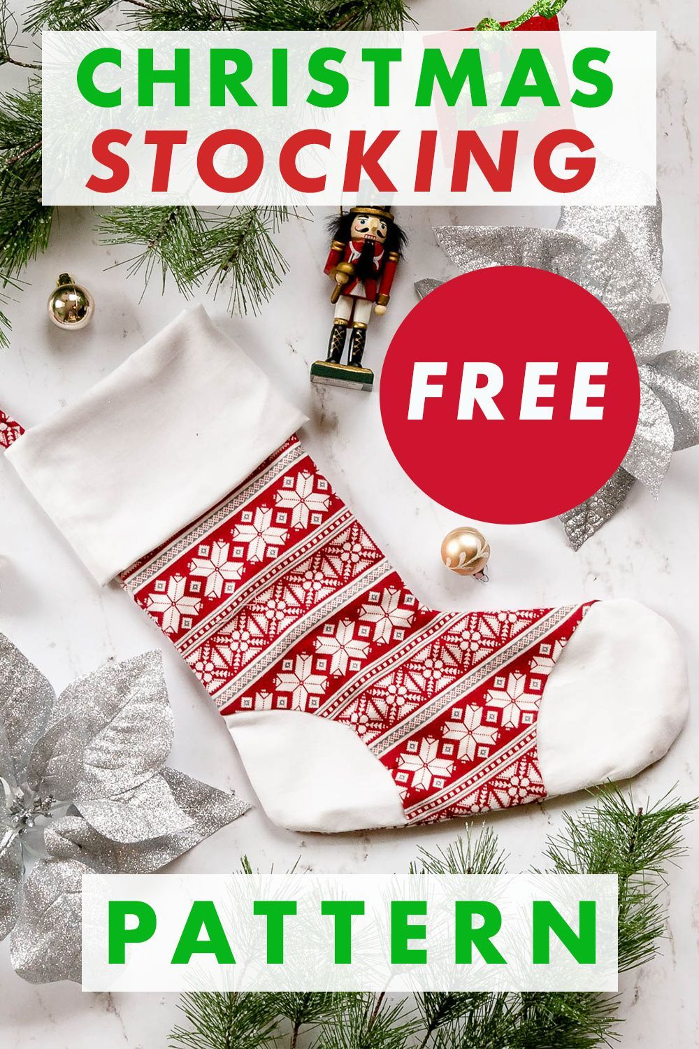 Free Christmas Stocking Sewing Pattern With Toe Patch Christmas Stockings Christmas Stockings Sewing Christmas Sewing Patterns