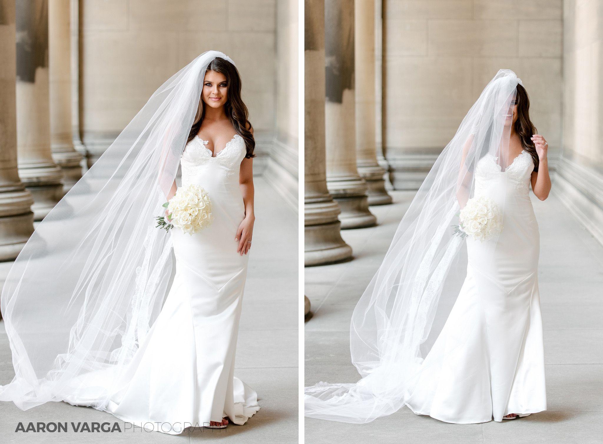 Wedding Dress Cathedral Veil Pnina Tornai St Pauls Cathedral
