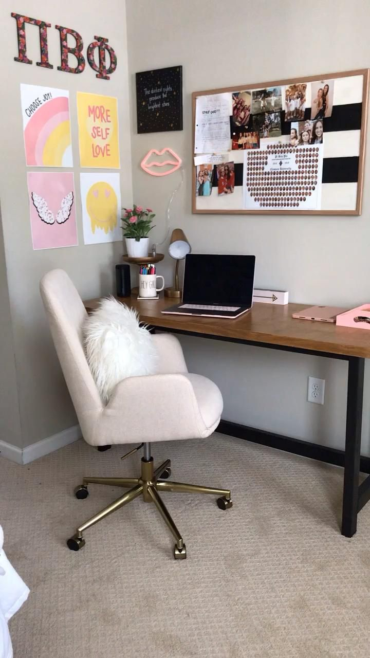 DIY Wood Desk - At Home With The Barkers