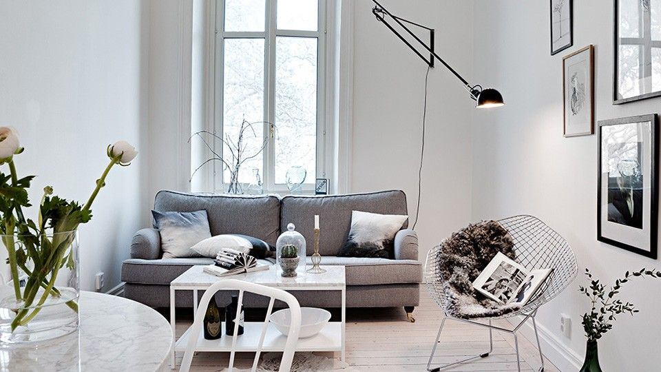 Un petit appartement à la déco contemporaine | Deco contemporaine ...