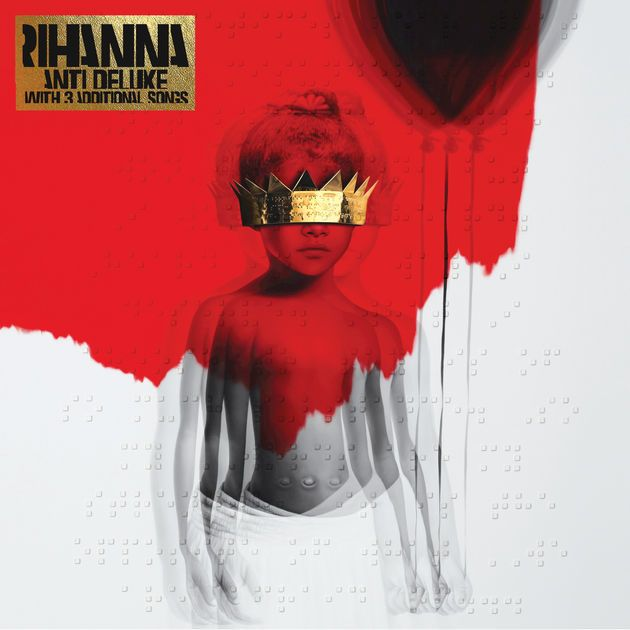 Anti Deluxe By Rihanna Love Onthe Brain Rihanna Albums Cool Album Covers Album Cover Art