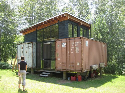 paul and sarah's shipping container get away