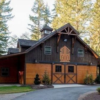 +29 An Unique and Affordable Pole Barn Home Idea - myhomeorganic #polebarngarage