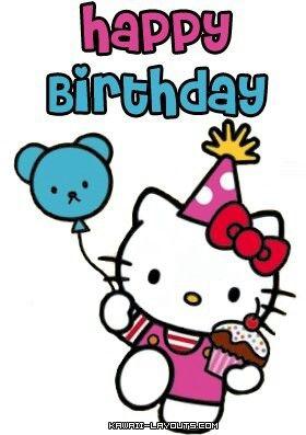Hello kitty birthday wishes