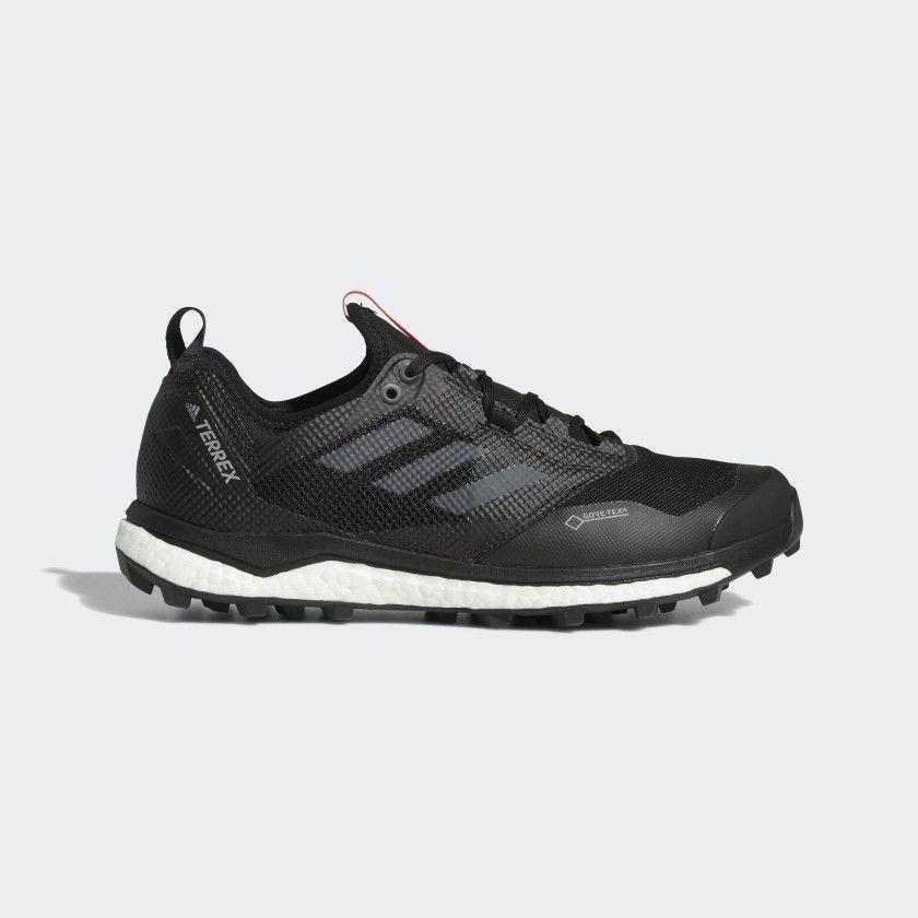 Terrex agravic xt gtx shoes core black grey hires red