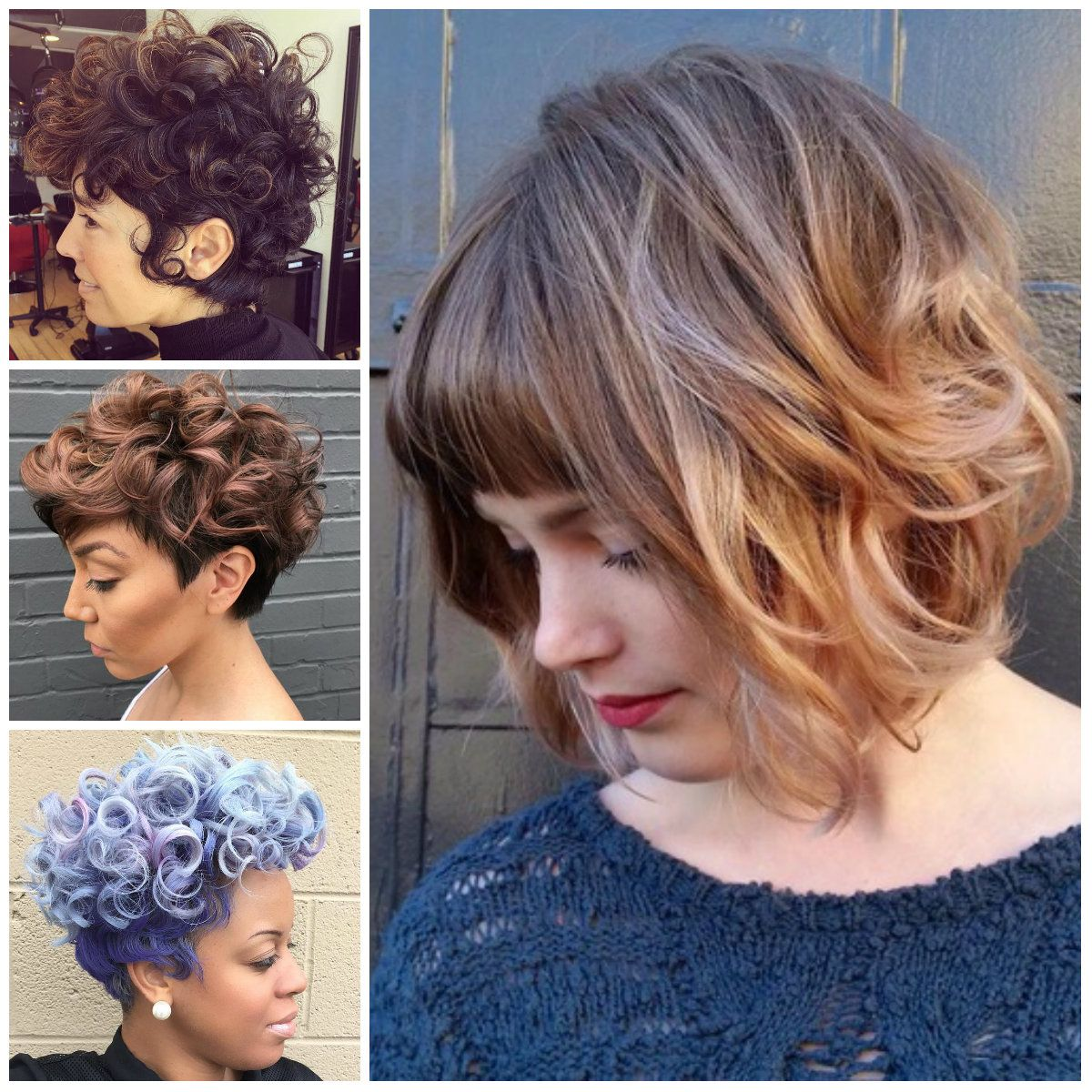 Short Haircuts For Curly Hair 2017 Best Short Haircut Styles