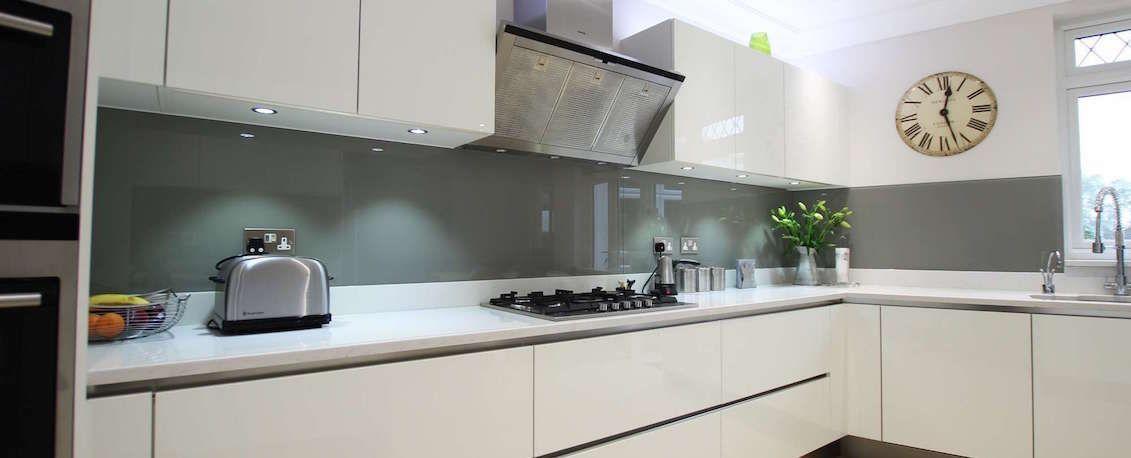 Image Result For Mirror Glass Kitchen Splashback In Galley Kitchen