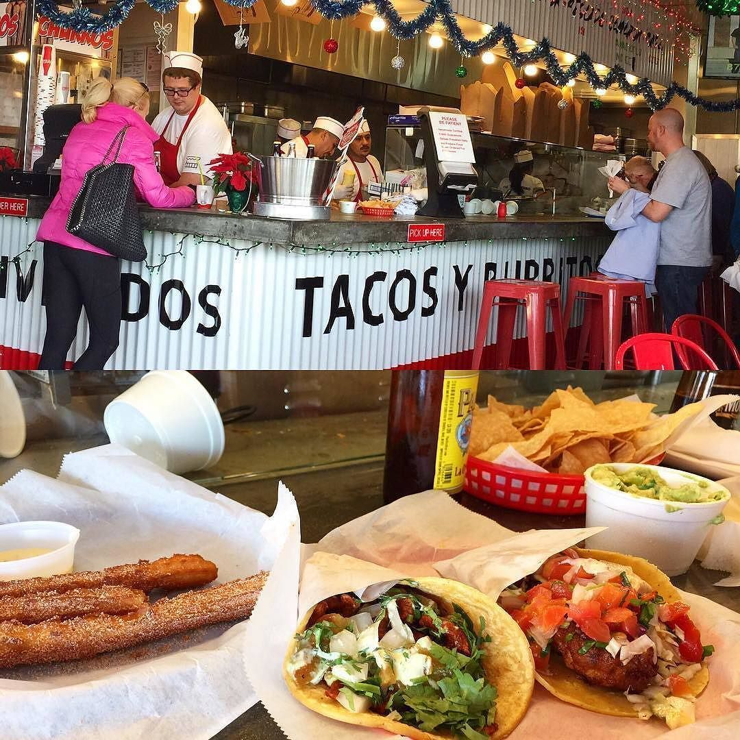 Scenes from the OG Taco Stand  Who's coming to La Jolla today?   Thanks for sharing @ahughes0309  #LetsTaco  #TheTacoStand