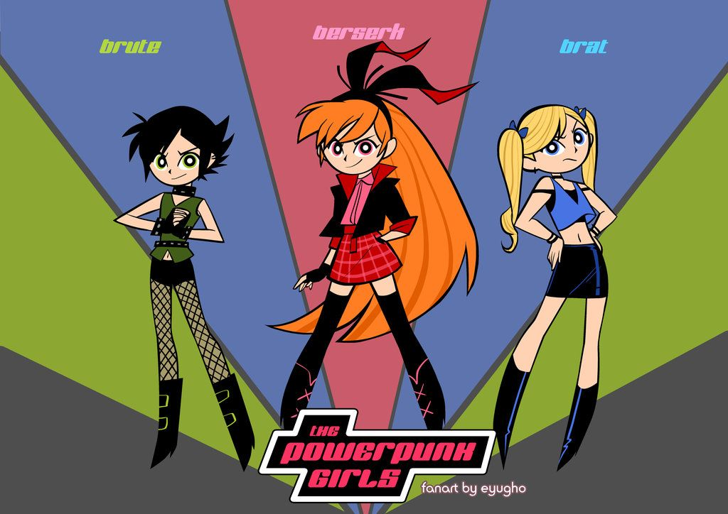 Powerpunk By Eyugho Deviantart Com On Deviantart Powerpuff