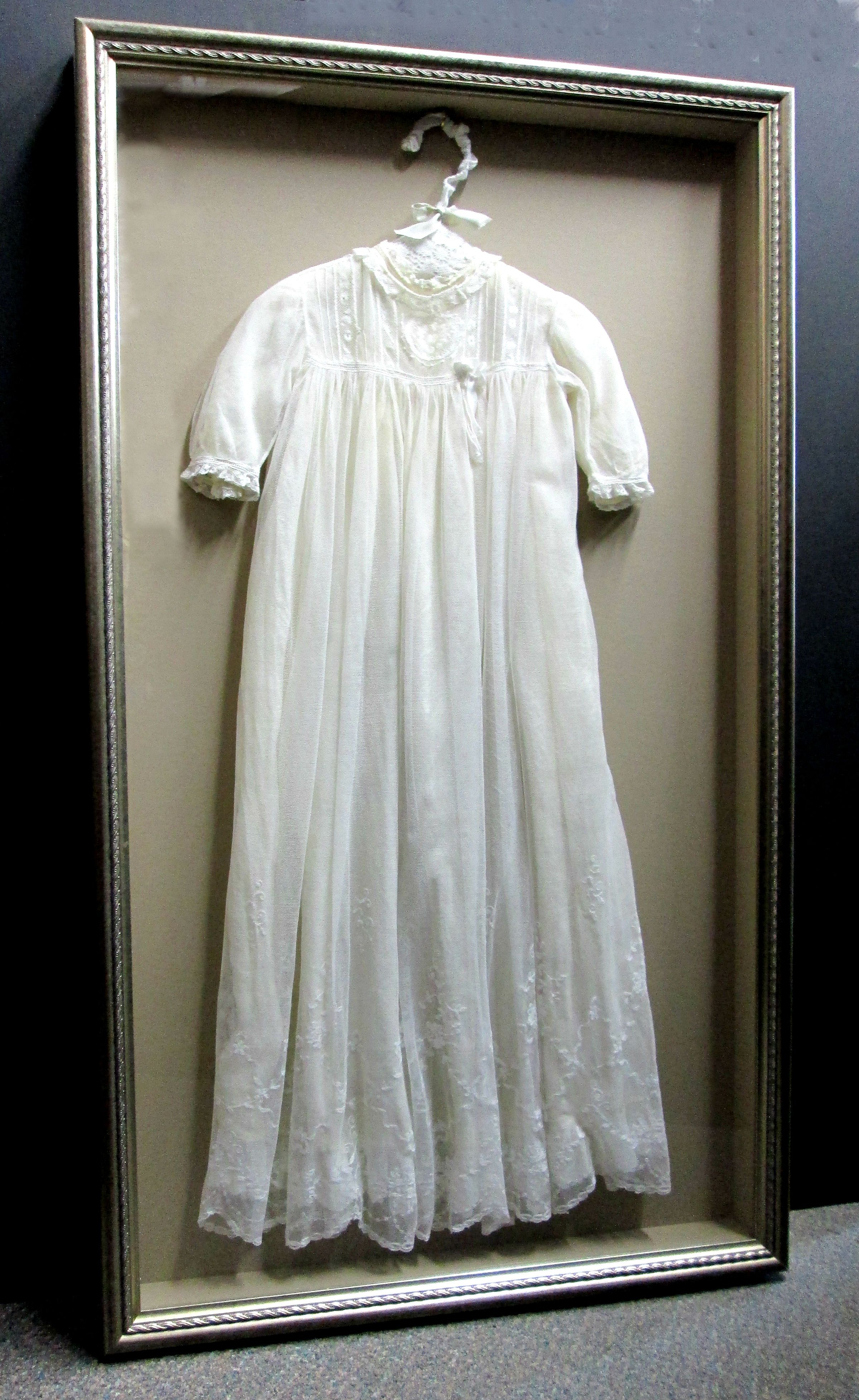 Less Is More With This Lovely Antique Baby S Christening Dress A