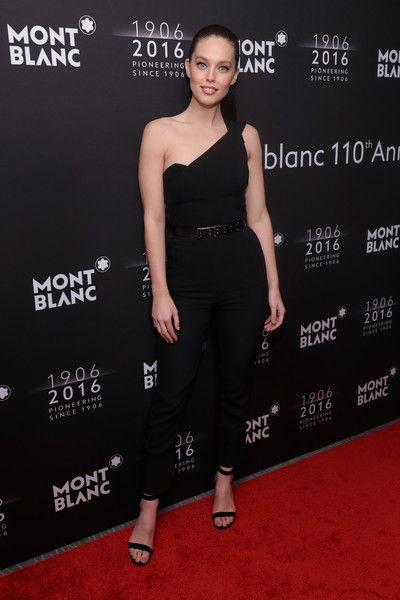 Emily DiDonato Photos Photos - Victoria's Secret Model Emily DiDonato attends the Montblanc 110 Year Anniversary Gala Dinner on April 5, 2016 in New York City. - Montblanc 110 Year Anniversary Gala Dinner