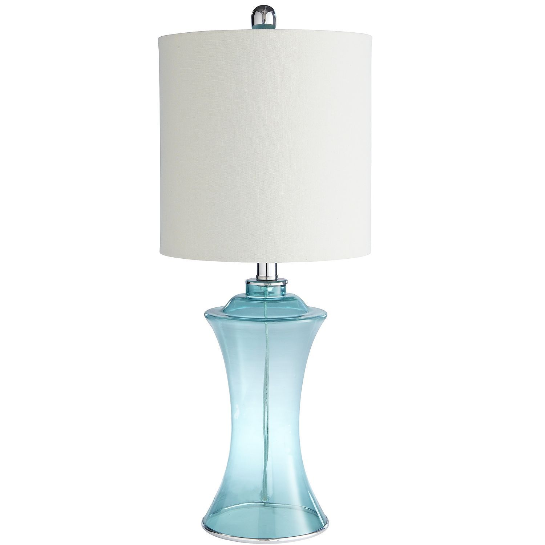 Sea Glass Lamp Aqua   Pier 1 Imports   Glass lamp, Glass