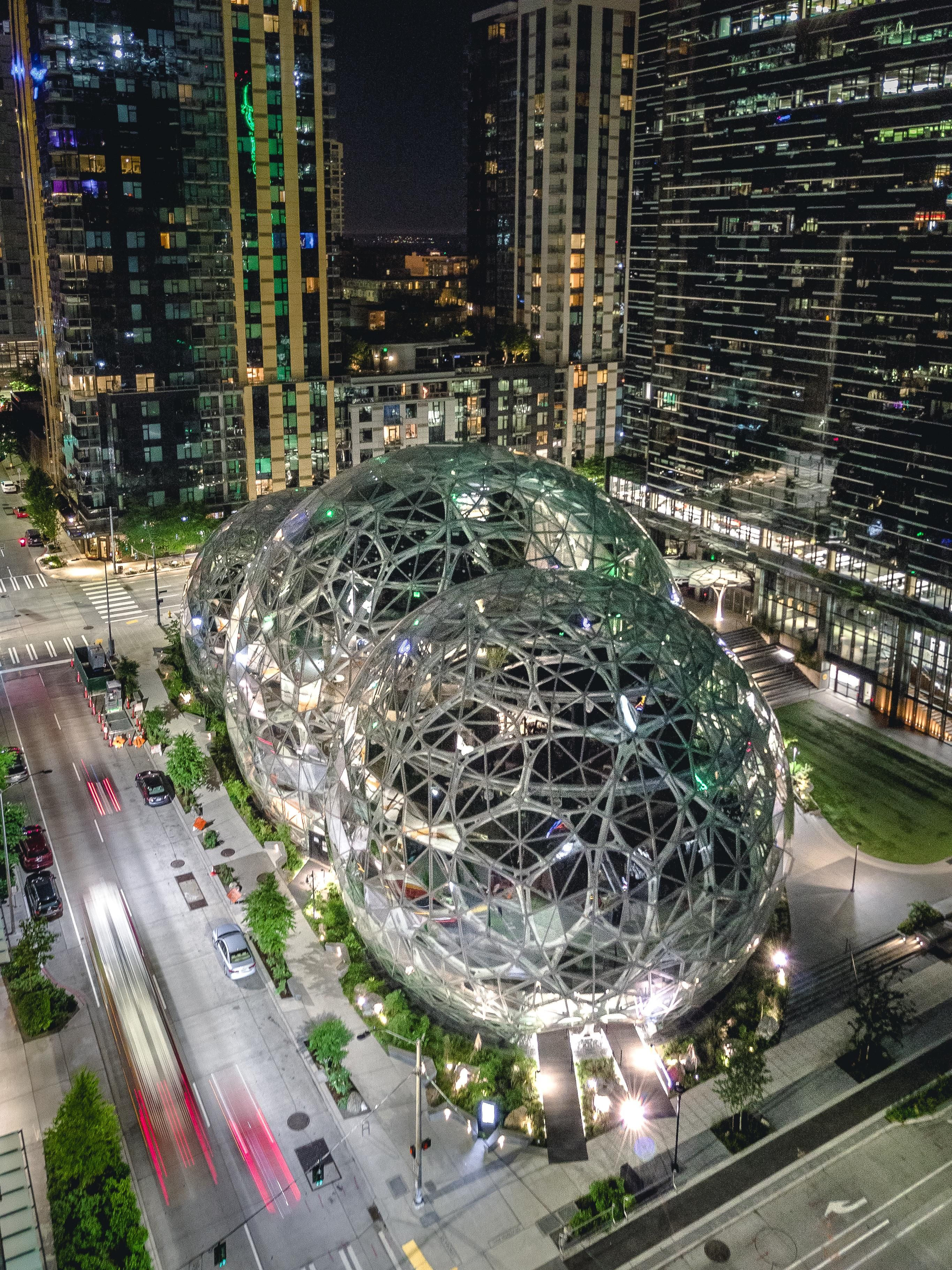 The Most Unique Building On The West Coast Amazon Spheres In