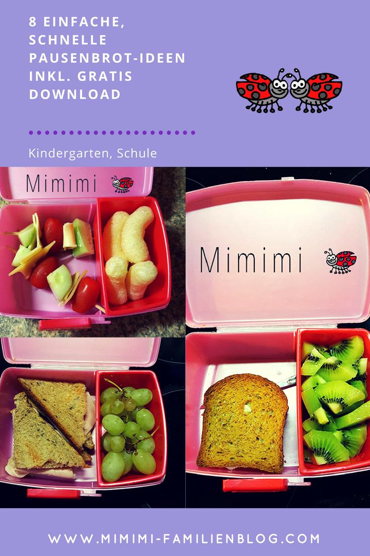 8 brotdosen pausenbrot lunchbox zn ni ideen zum f llen die schnell und einfach umzusetzen. Black Bedroom Furniture Sets. Home Design Ideas