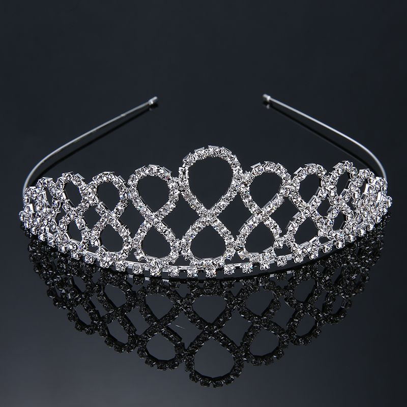 Pageant Crystal Crowns Queen Bride Diadem Bridal Tiara Crown King  Rhinestones Headband Wedding Jewelry Adornment Headpieces 9da0306d0765
