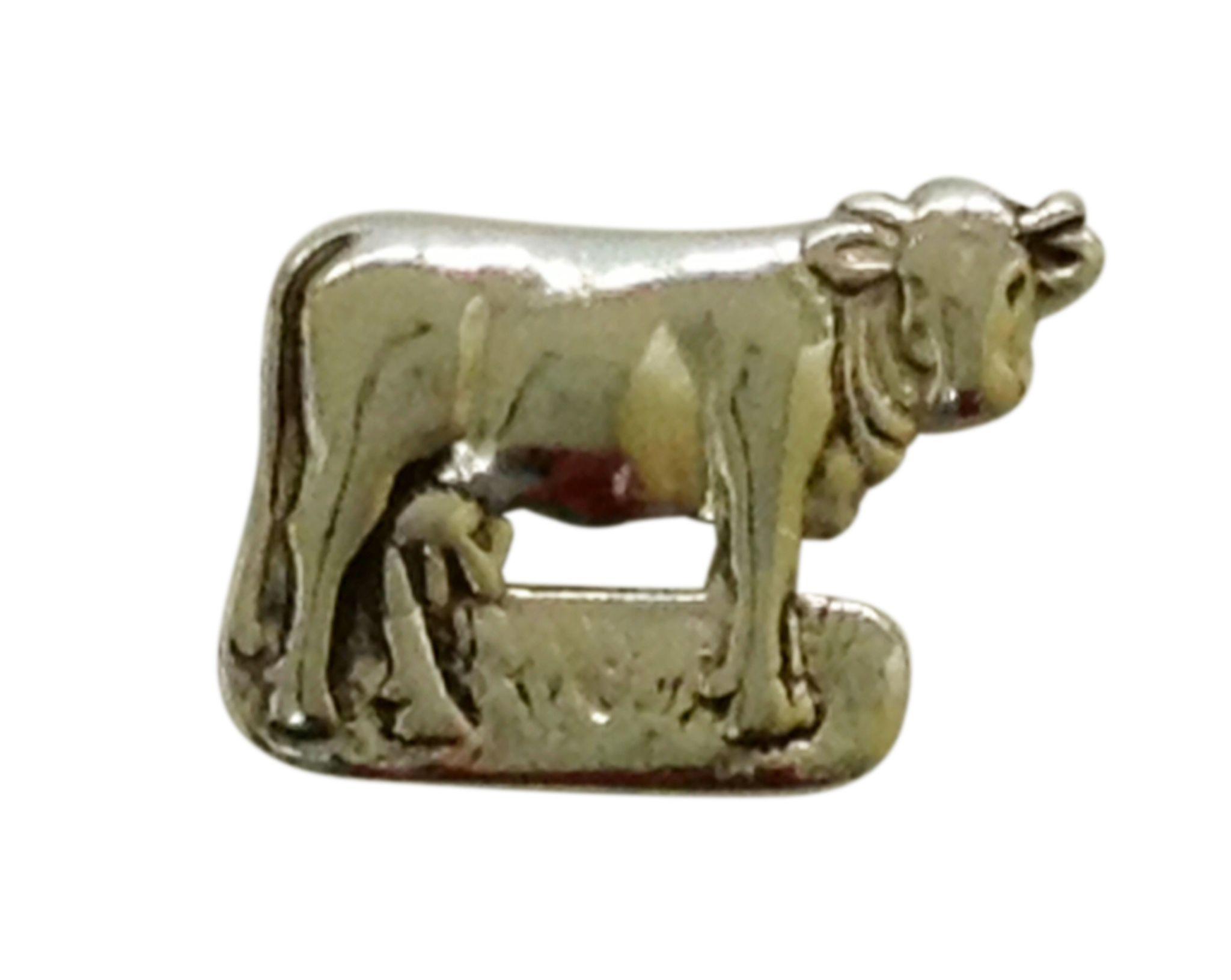 süß der Verkauf von Schuhen exquisiter Stil Original Appenzeller Kuh Ohrstecker (Chüeli) Silber | Silber, Kuh ...
