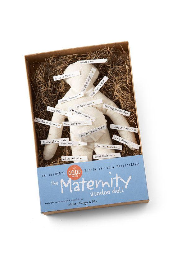 The Maternity Good Voodoo DollThe Ultimate Bun by waldosluggoandme, $22.00
