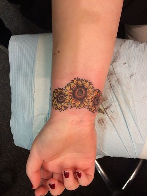 52 Small Sunflower Tattoo Ideas and Images | Tattoo ...
