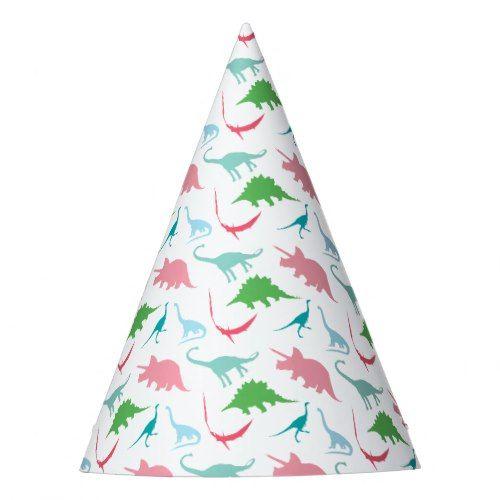 Preppy Dinosaur Birthday Party Hats Girls Birthday Party Ideas