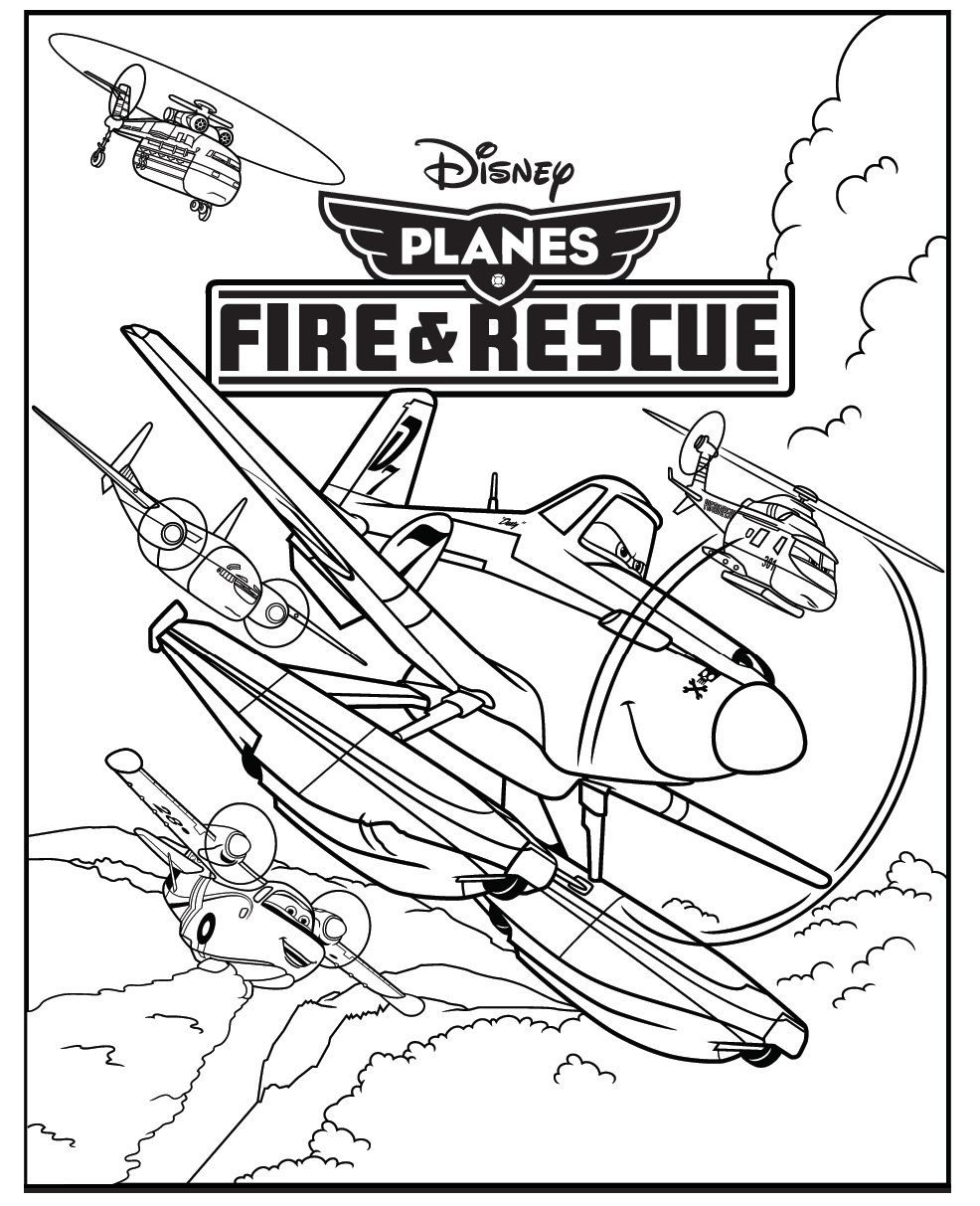 Disney Planes 2 Printable Activity Sheets | Planes, Planes party and ...