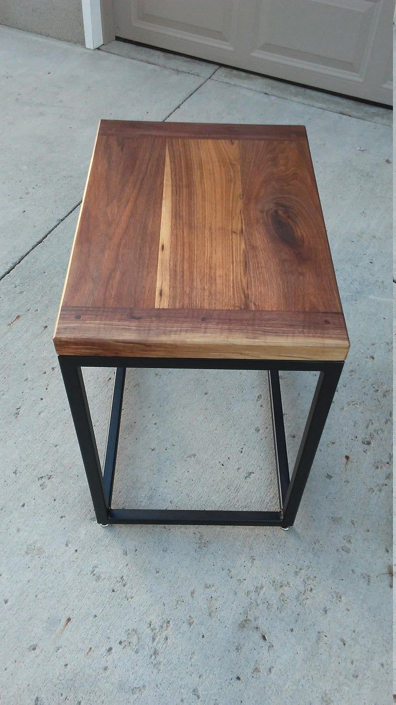 Best Walnut Breadboard End Table Set End Table Sets Pine 640 x 480