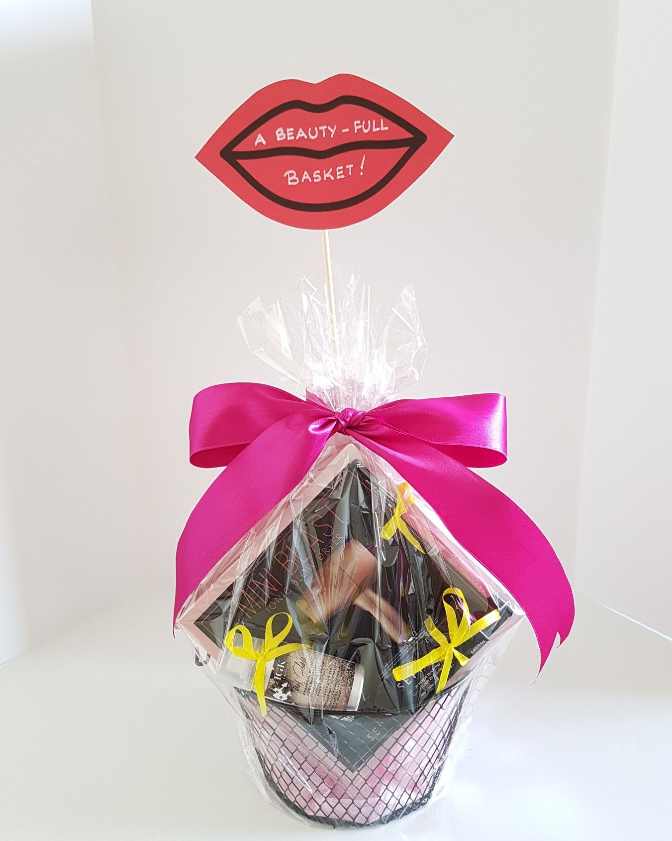 Beautyfull basket curated gifts client gifts tea