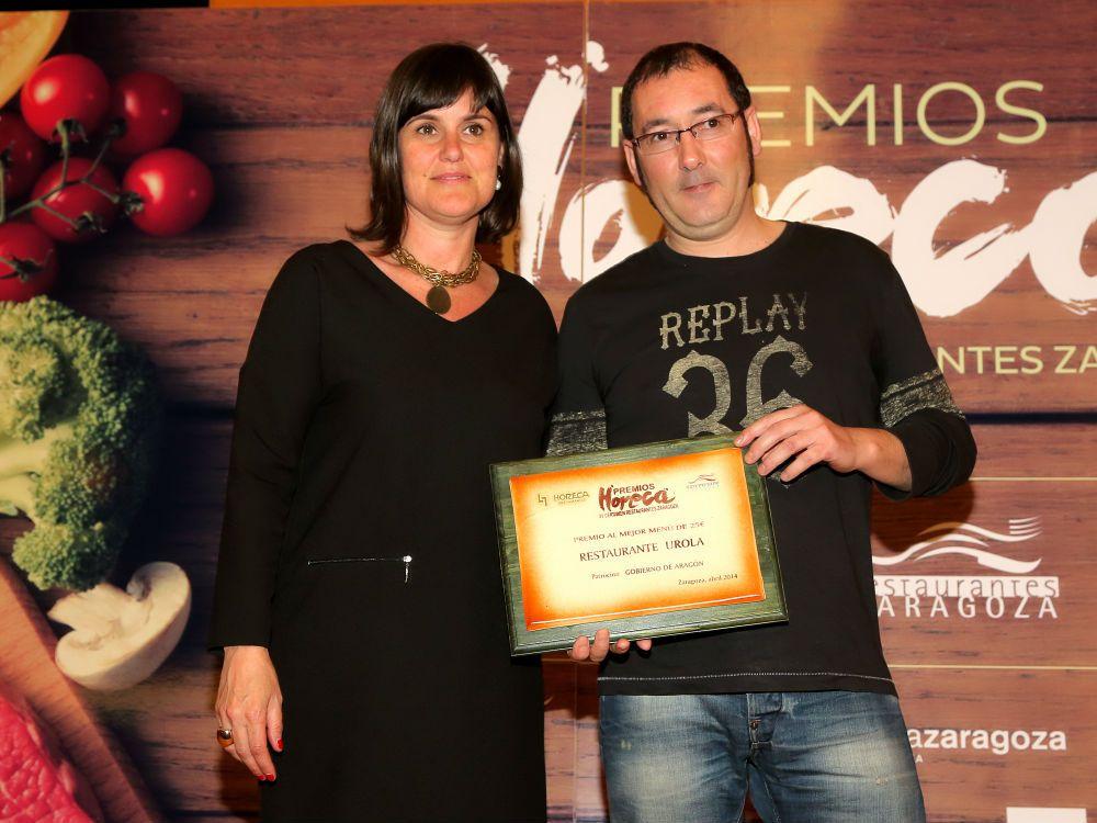 El Urola recibió ex aequo el Premio al Mejor Menú de 25€.