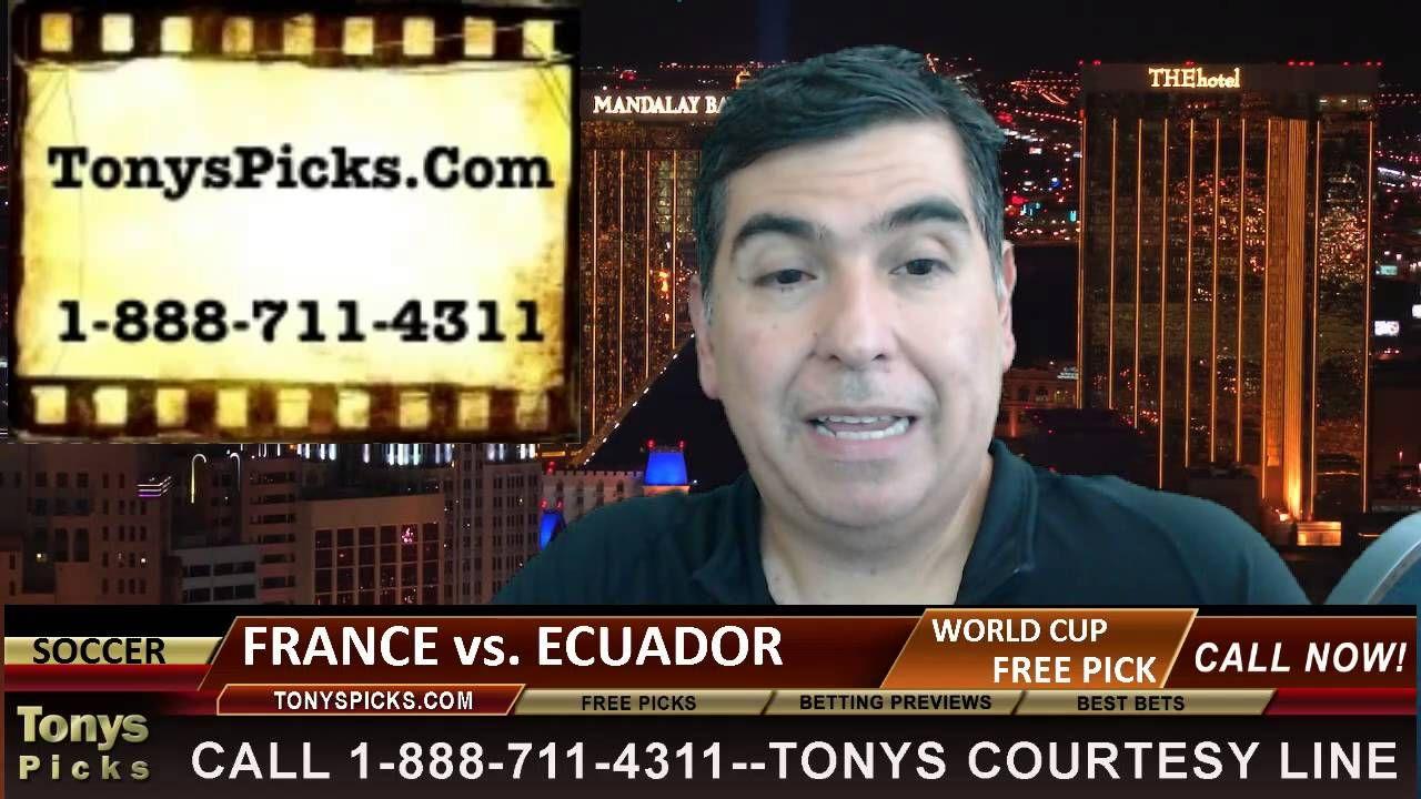 France vs. Ecuador Pick Prediction World Cup Soccer