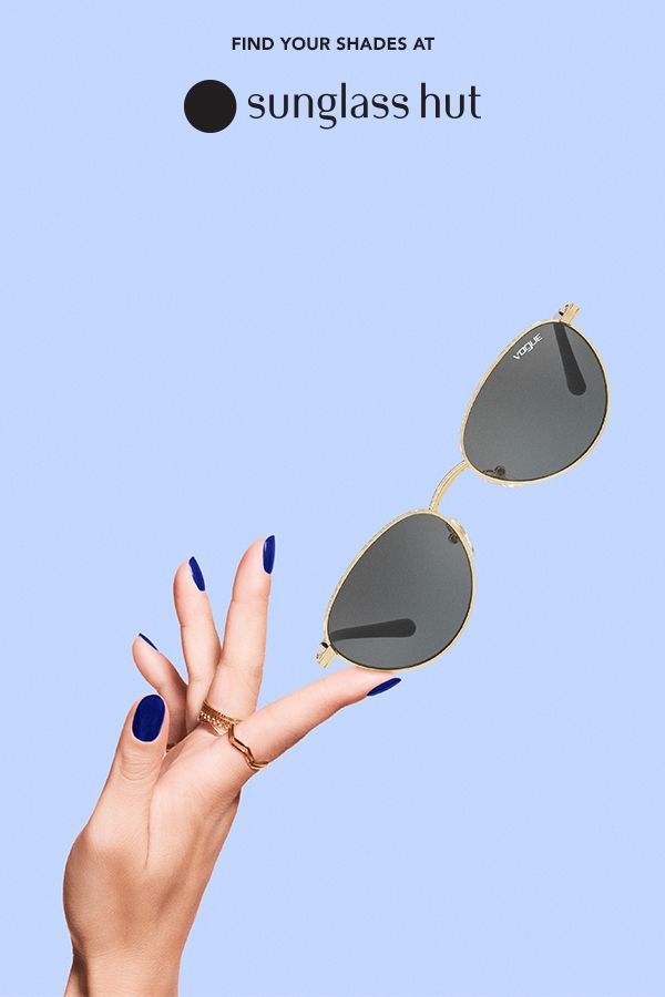 cfc8368fb2 Simple is the ultimate sophistication. Fashionable oval sunglasses from Gigi  Hadid s collection for Vogue Eyewear