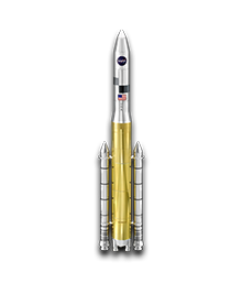 Silver USA Space Shuttle Ares V Tequila Shot Set