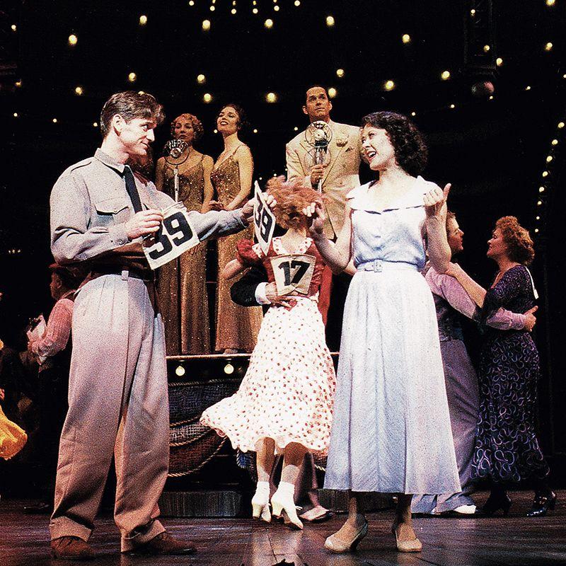 Daniel Mcdonald And Karen Ziemba In Kander And Ebb S Steel Pier Pier A Little Night Music Broadway Theatre