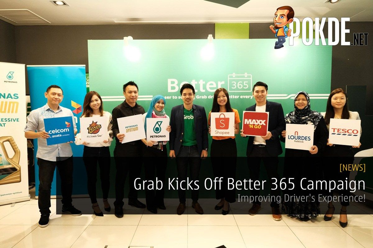 Grab Kicks Off Better 365 Campaign - Improving Driver's Experience! - http://pokde.la/2d3