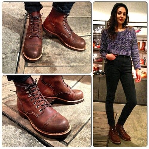 Rough Boots for tough Girls! - redwing-berlin-hamburg in 2019  2cccac3622