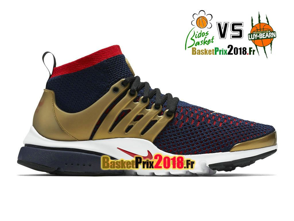buy popular d85ce 1232f Chaussures Sneaker Prix Pas Cher Homme Nike Air Presto Ultra Flyknit  Olympic 835570-406-