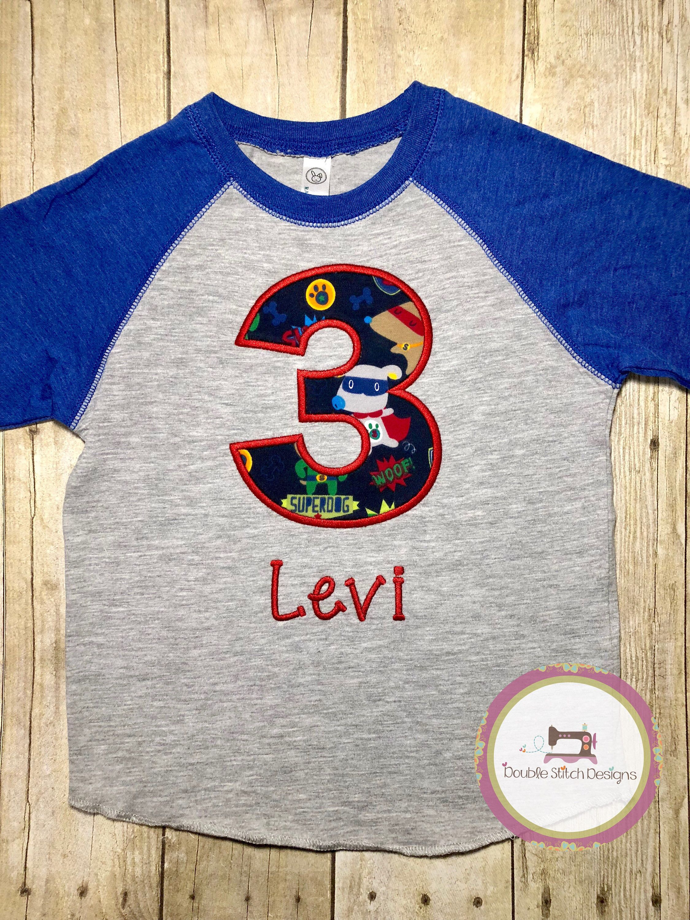 Superhero Puppies Birthday Shirt Perfect For Your Dog Lover