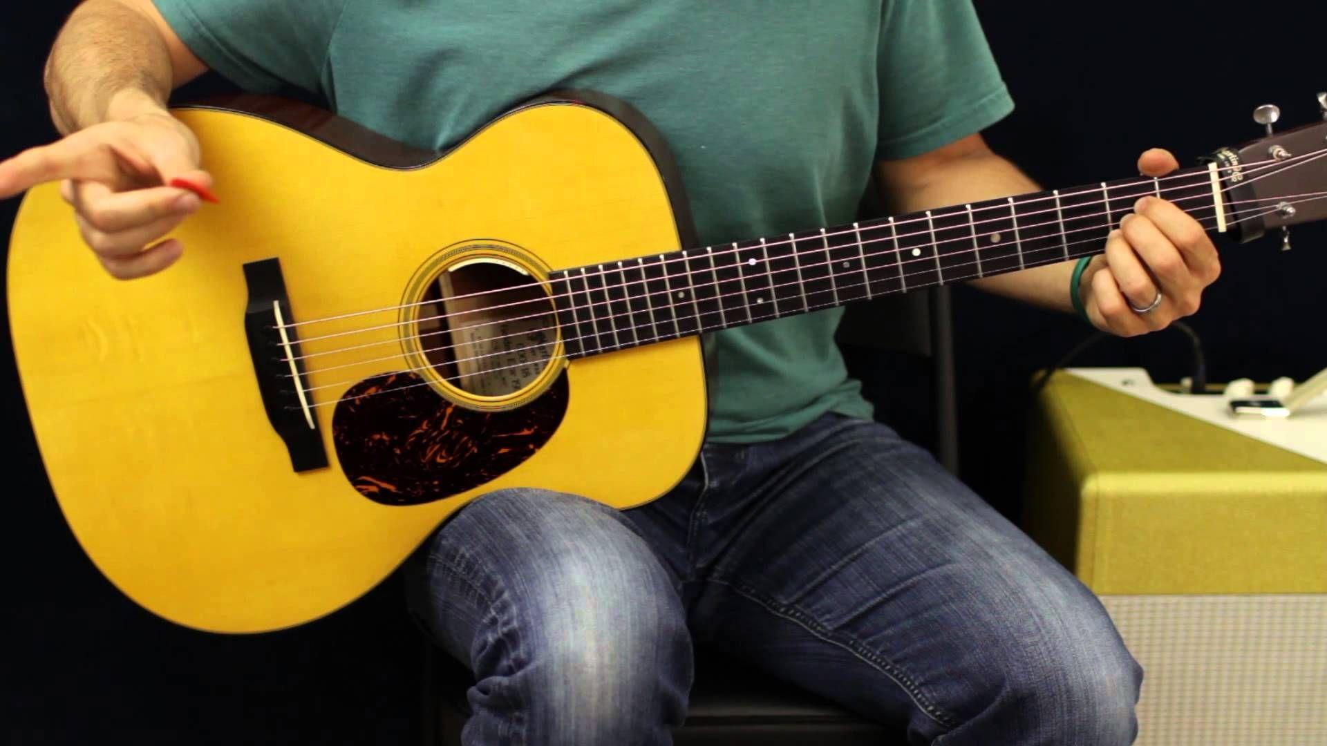 How To Play Darius Rucker Wagon Wheel Acoustic Guitar Lesson