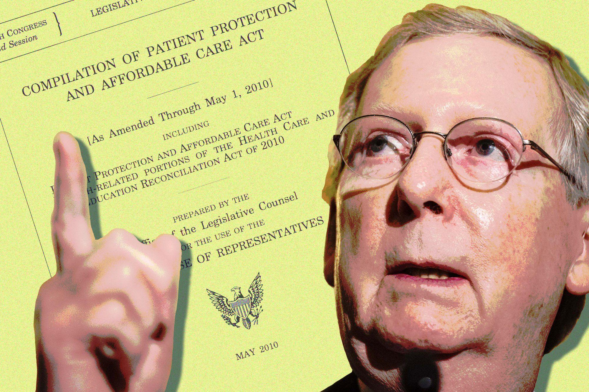 Mitch McConnell's Obamacare Dilemma Govern or Destroy