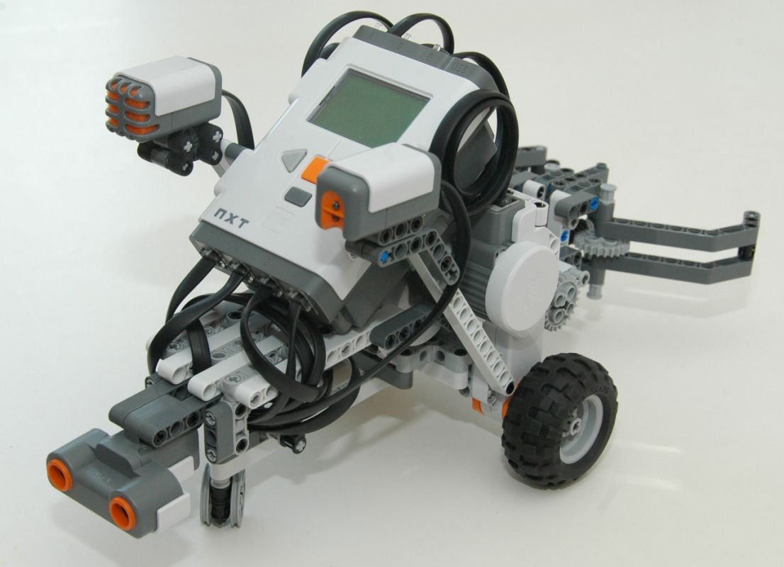 Lego Robotics Robot Designs Grabbot From Nxt One Kit Wonders