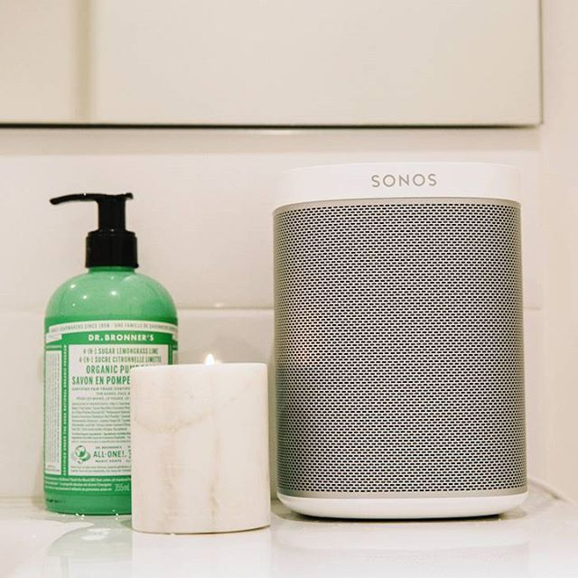 One Sl The Essential Home Speaker With Images Bathroom